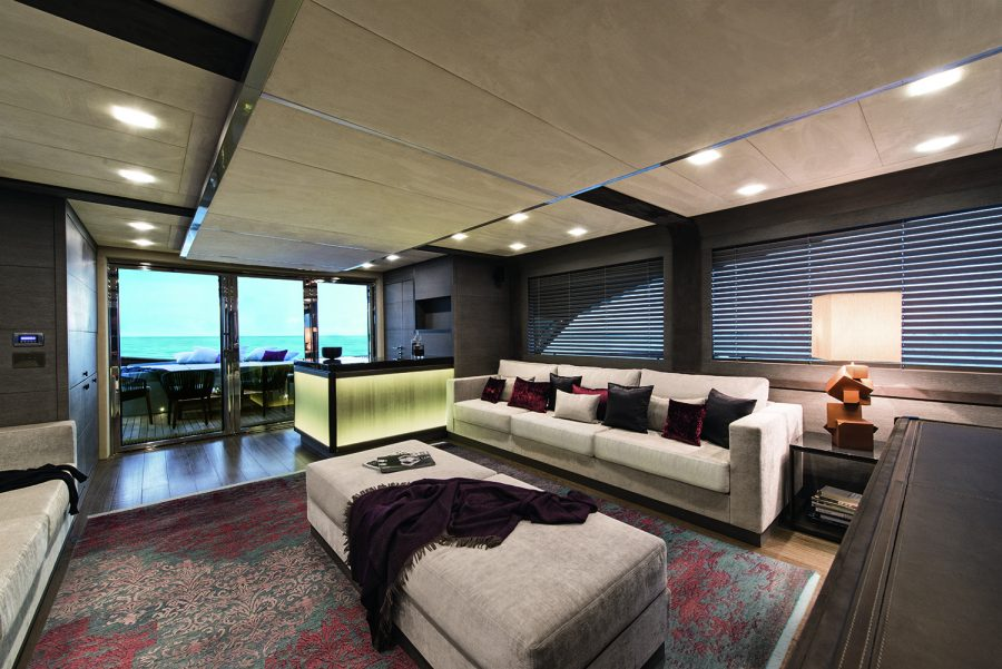Interior design award recognises mcy 105 monte carlo yachts for Famous international interior designers