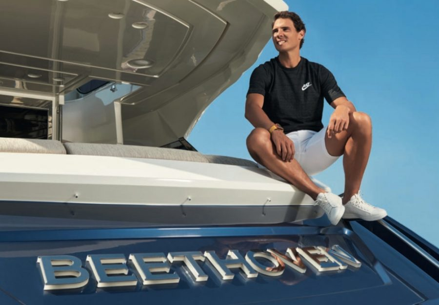 RAFAEL NADAL CHOOSES THE MCY 76 AS HIS PERSONAL YACHT